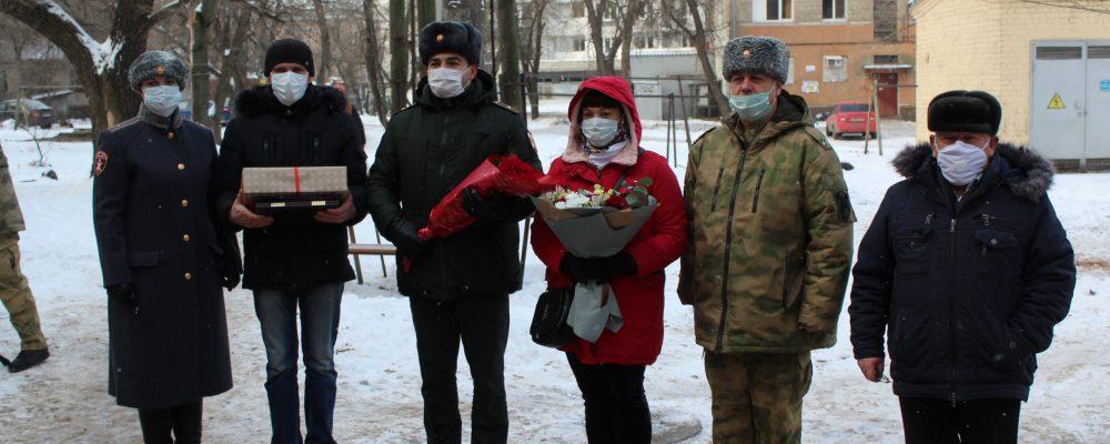 В Левобережном районе поздравили с днем рождения ветерана Великой Отечественной войны  Евдокию Илларионовну Смородинову