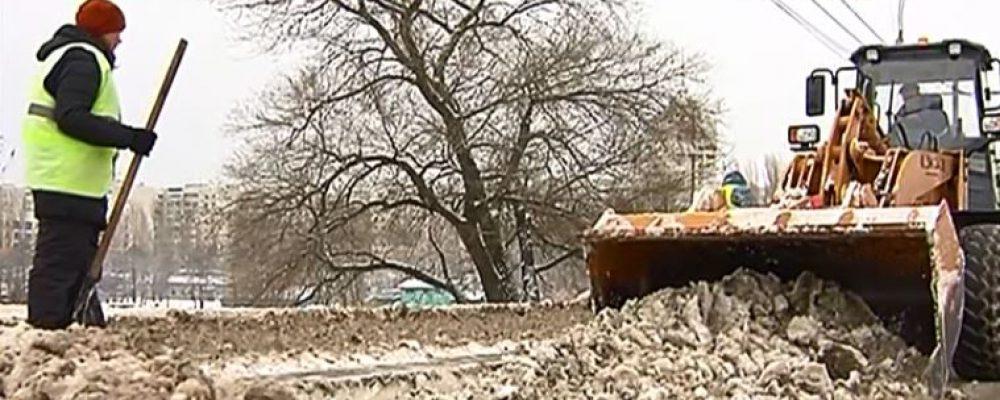 Репортаж ТВ «Губерния» по уборке Левобережного района