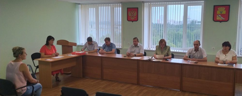Административная комиссия Левобережного района провела очередное заседание