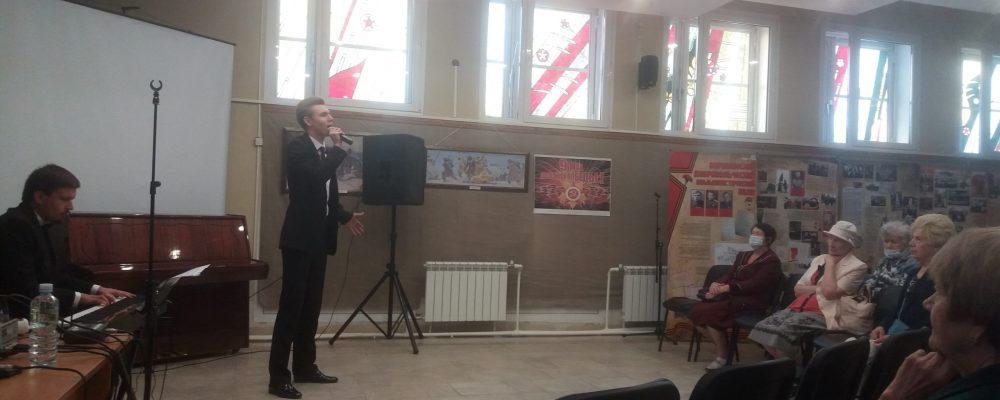 В Левобережном районе, в рамках мероприятий посвящённых празднованию Дня города, для ветеранов была представлена концертная программа «Великой Победе посвящается».