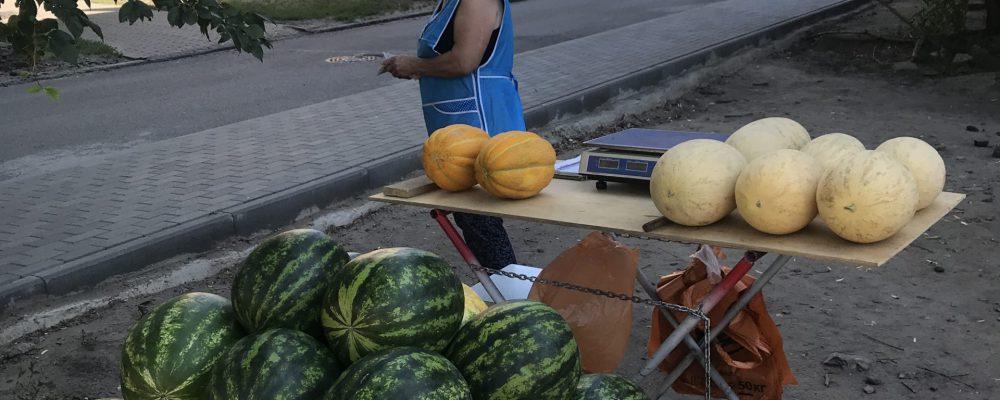 В Левобережном районе продолжаются рейды по ликвидации несанкционированной торговли