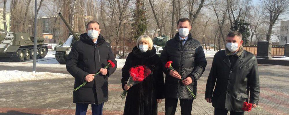 В Левобережном районе прошли мероприятия, посвященные Дню защитника Отечества.