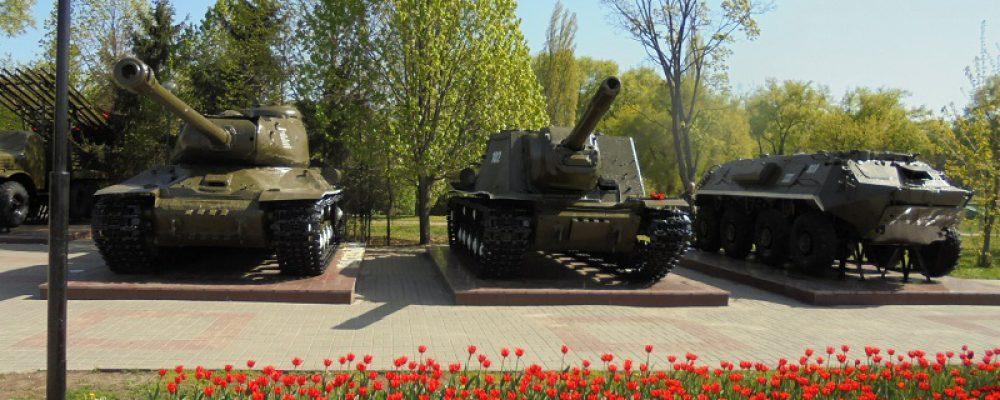Привели в порядок боевую технику времен Великой Отечественной войны