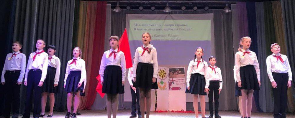 В Левобережном районе  прошел молодежный флеш-моб «Вместе против терроризма» и районный этап конкурса агитбригад под названием «Будущее за нами!»
