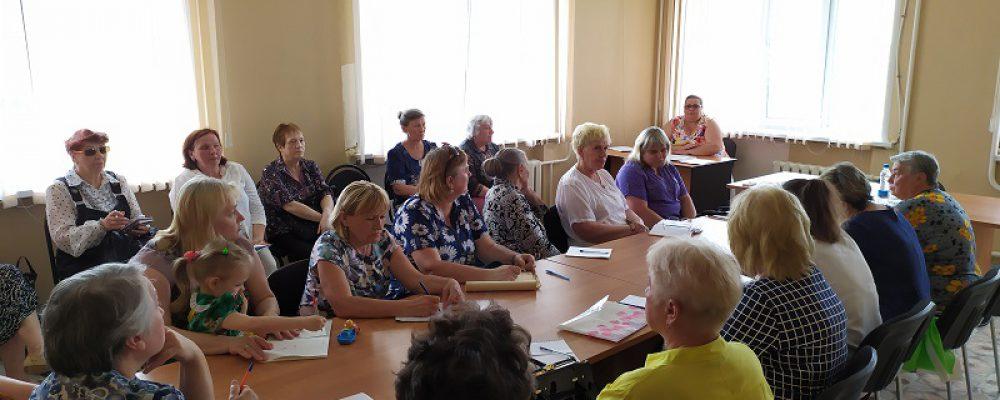 В управе Левобережного района прошло совещание с председателями комитетов территориального общественного самоуправления