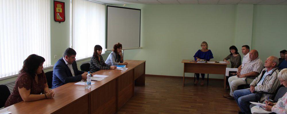 В управе Левобережного района прошло совещания с председателями СНТ