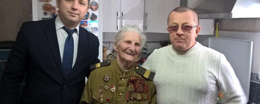 В Левобережном районе в микрорайонах Масловка и Никольское прошли мероприятия, посвященные 76-й годовщине освобождения Воронежа от фашистских захватчиков